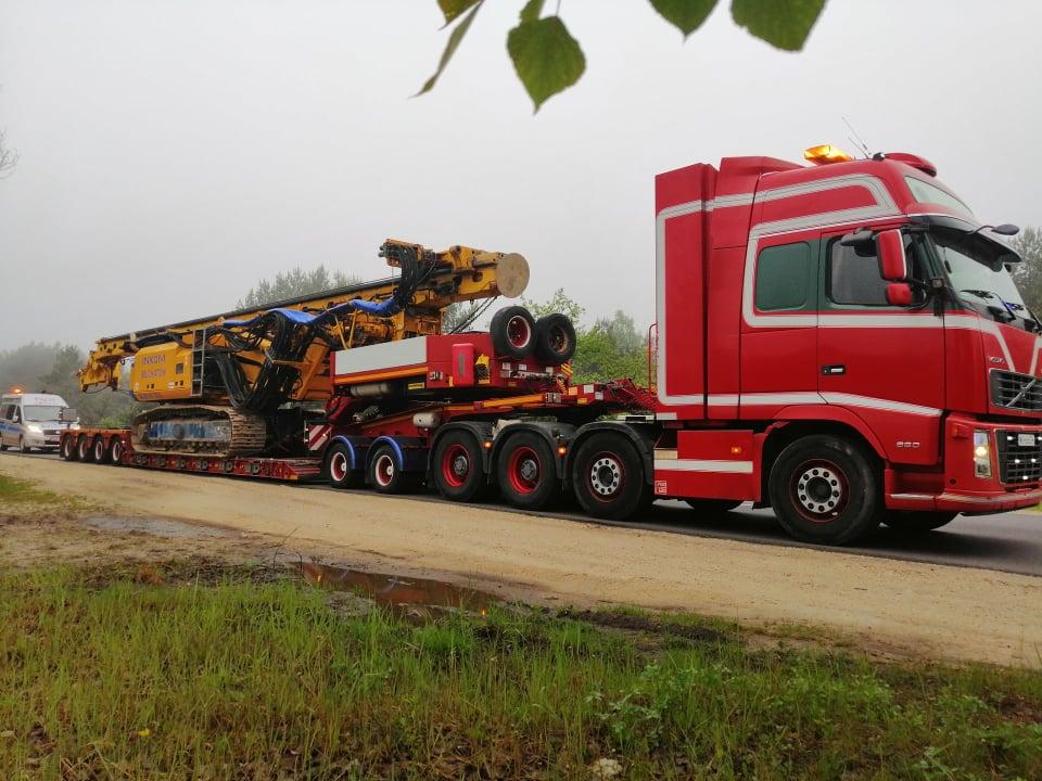 Świeże Transport niskopodwoziowy - Transport ponadgabarytowy - transport YC47